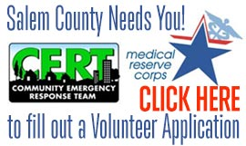 Medical Reserve Corps volunteer application