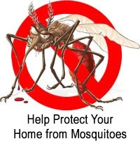 Help protect your home from mosquitoes
