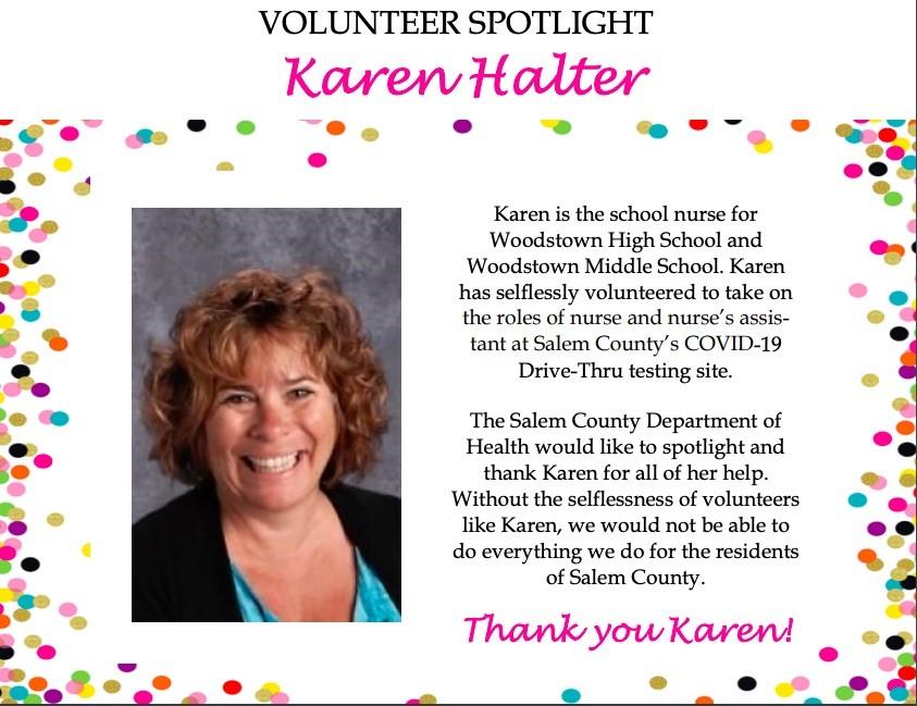 Volunteer spotlight Karen Halter
