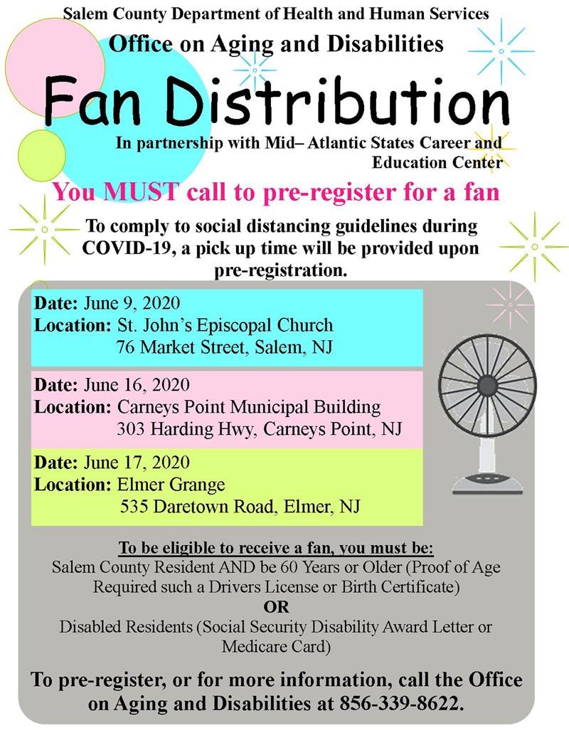 Fan Distribution 2020 Flier