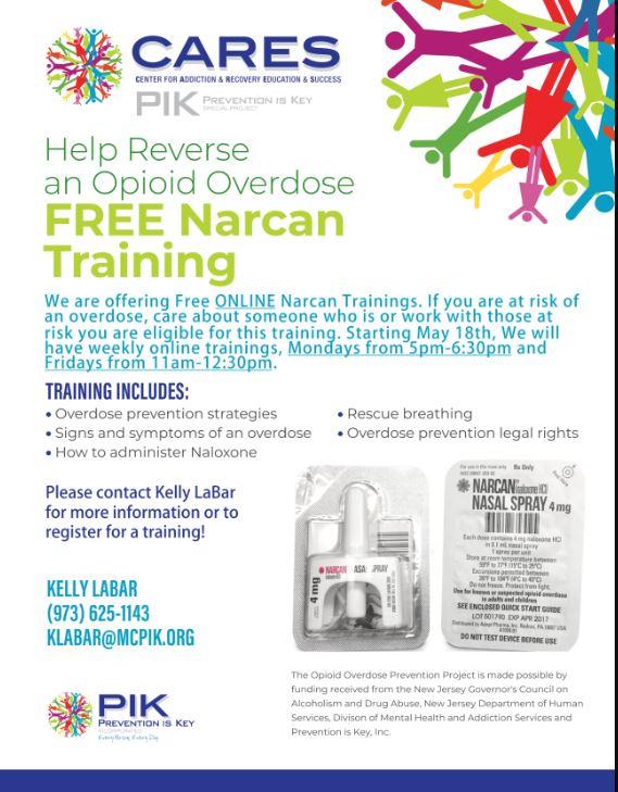 Narcan Kit 1 flyer - Coronavirus Disease 2019 (COVID-19)