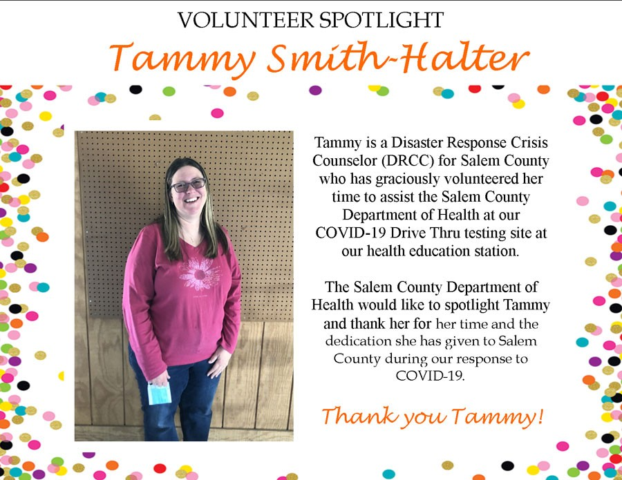 Volunteer Tammy Smith