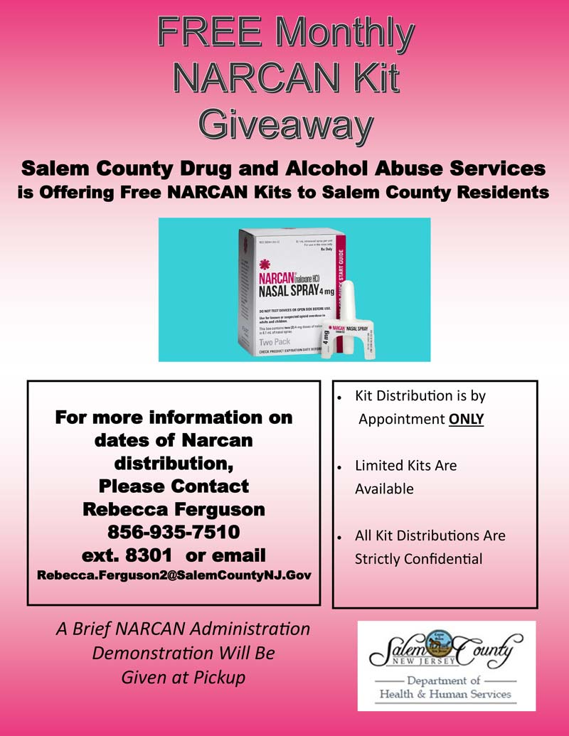 Free Monthly NARCAN Kity Giveaway
