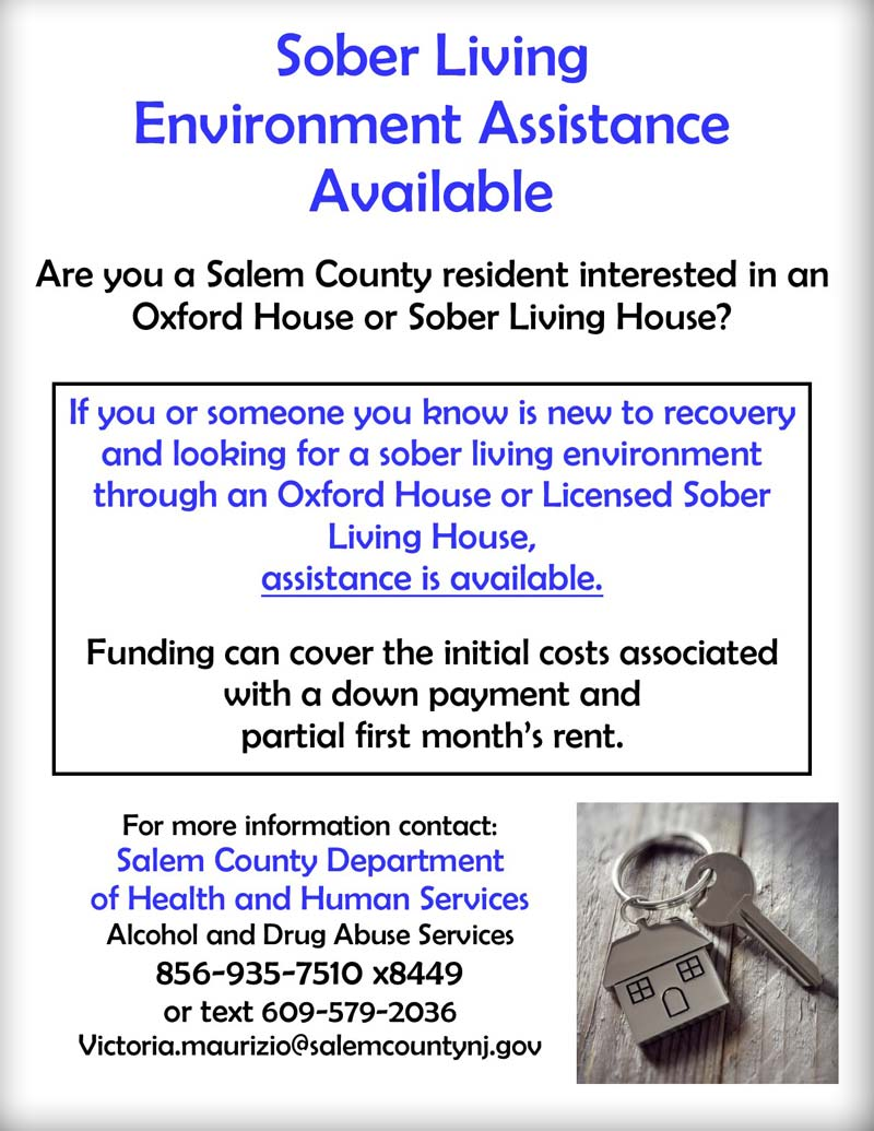 Sober Living Assistance at Oxford House