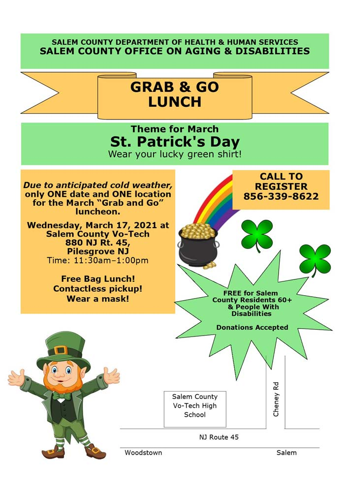 Grab & Go Lunch St. Patricks Day Themed
