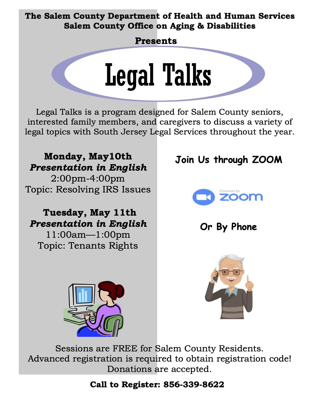 May 2021 Legal Talks Flier
