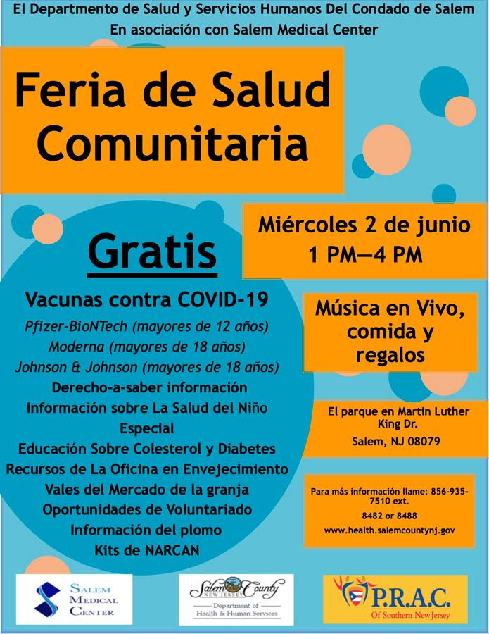 Feria De Salud Comunitaria