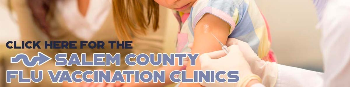 Click here for Salem County Flu Clinic Schedules and info